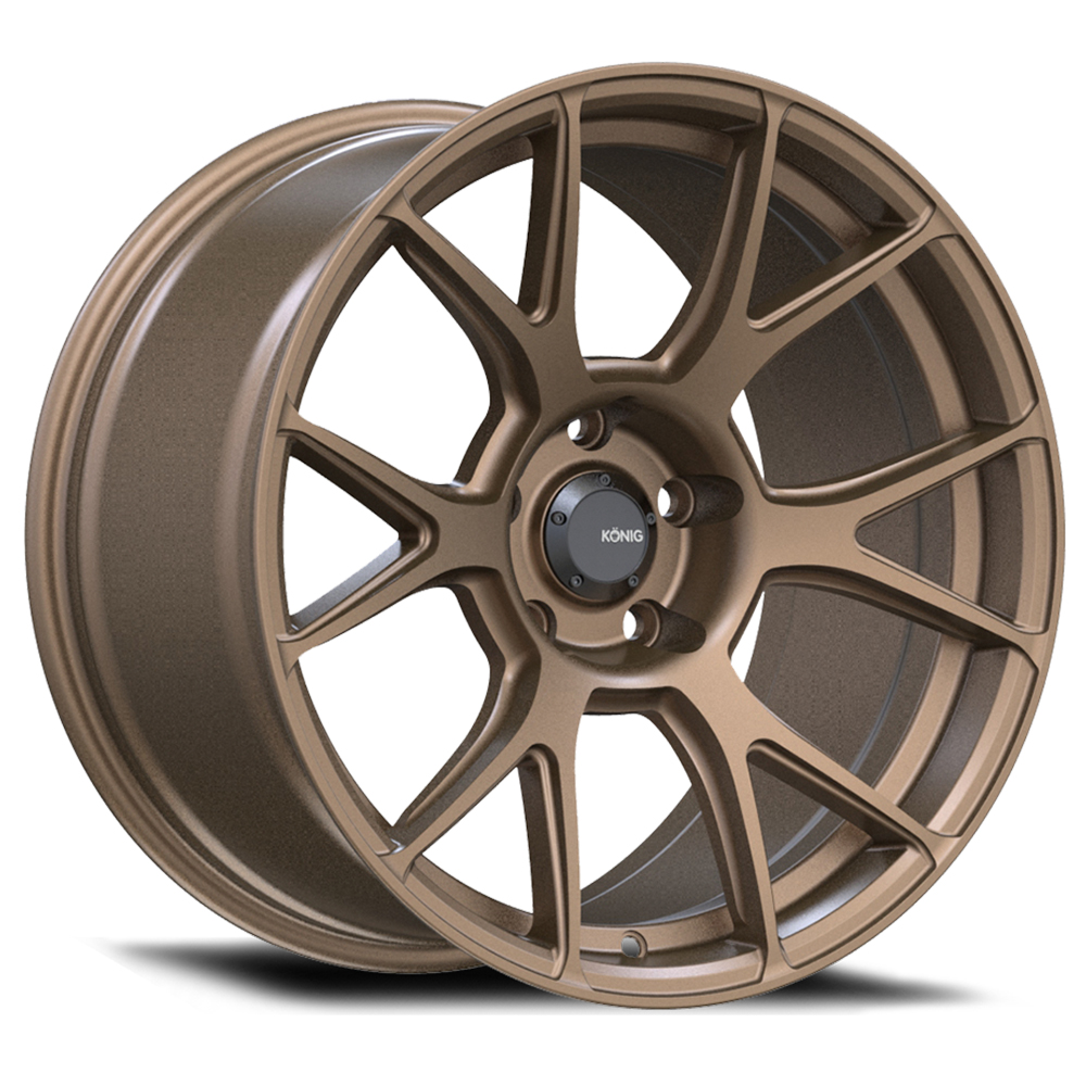 Konig Wheels Ampliform - Bronze Rim