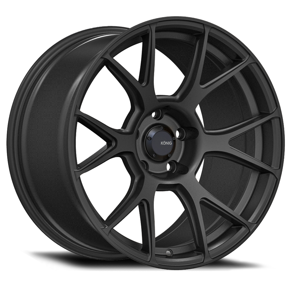 Konig Wheels Ampliform - Dark Metallic Graphite Rim
