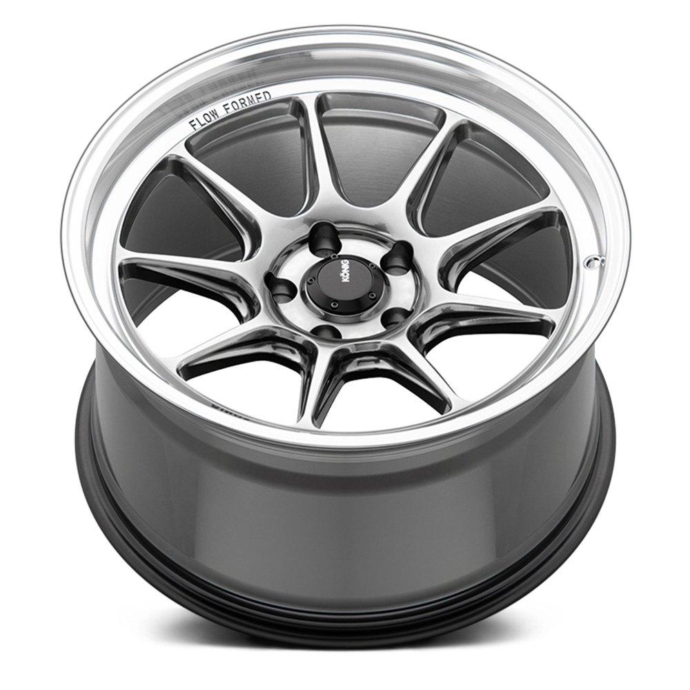 Konig Wheels Countergram - Hyper Chrome / Machined Lip Rim