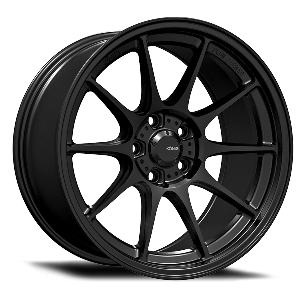 Konig Wheels Dekagram - Semi-Matte Black Rim