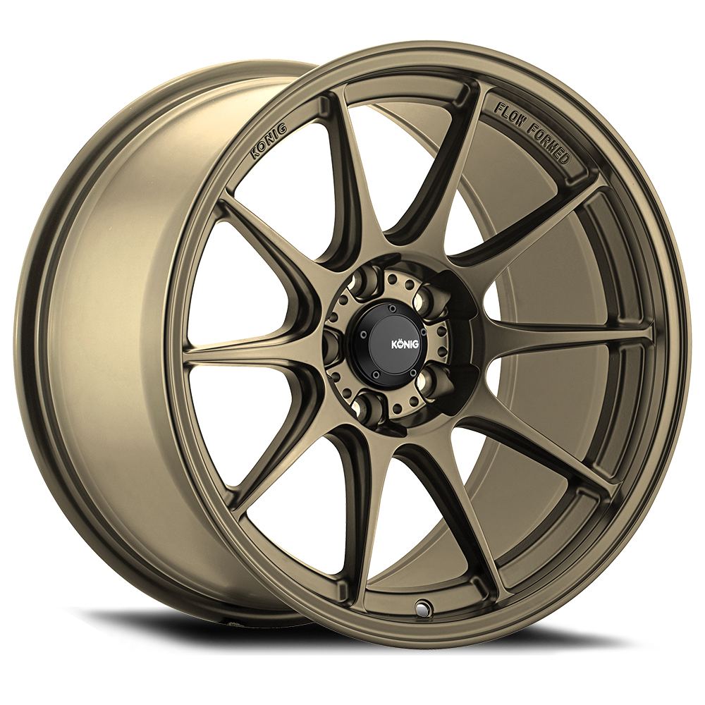 Konig Wheels Dekagram - Gloss Bronze Rim