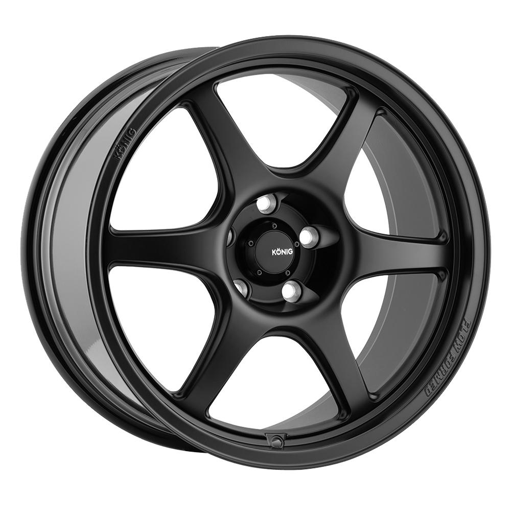 Konig Wheels Hexaform - Matte Black Rim