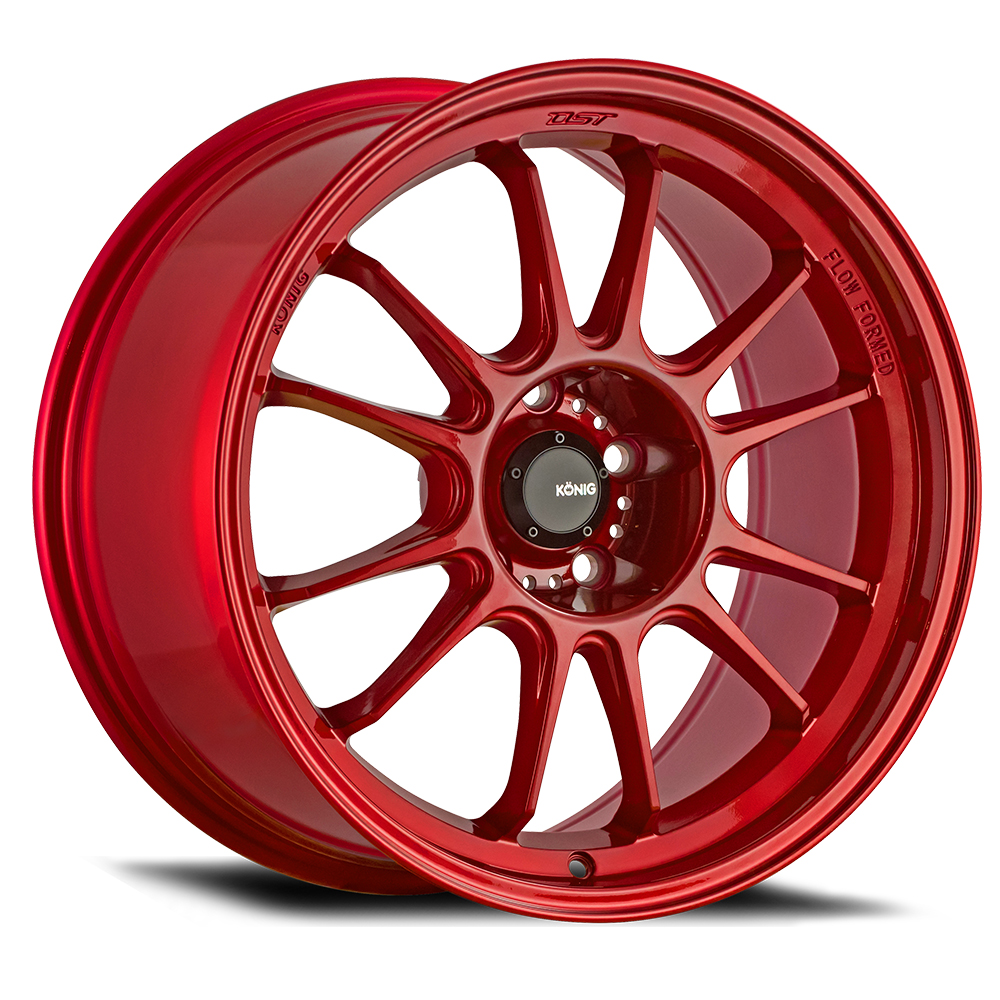 Konig Wheels Hypergram - Red Opal Rim