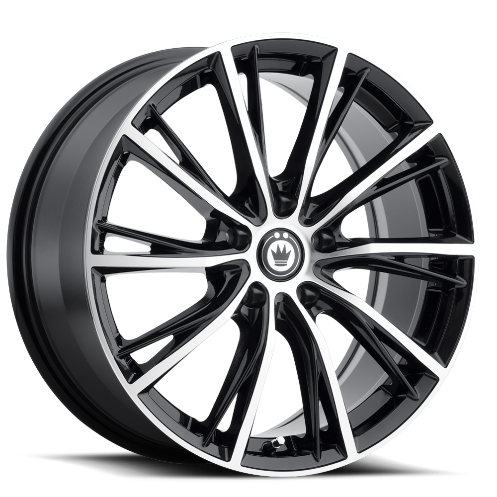 Konig Wheels Impression - Gloss Black w/Machined Face Rim
