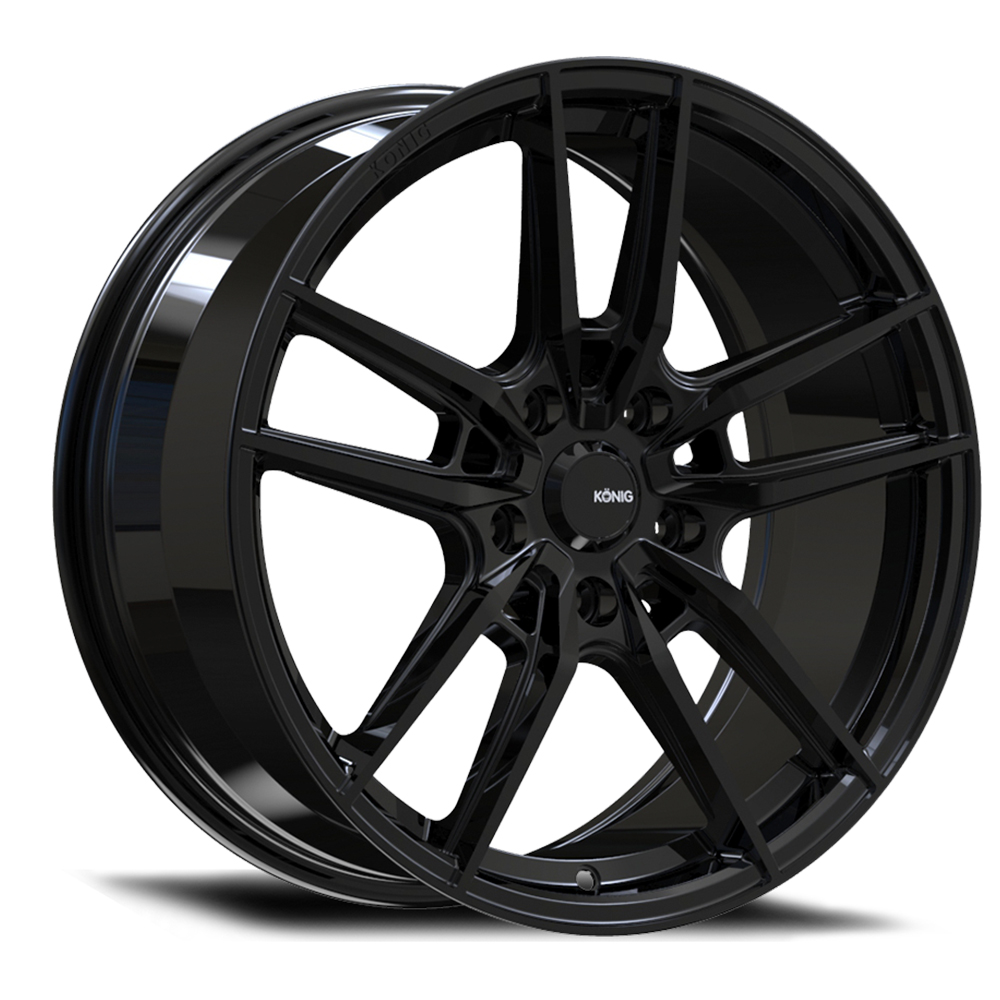 Konig Wheels Myth - Gloss Black Rim