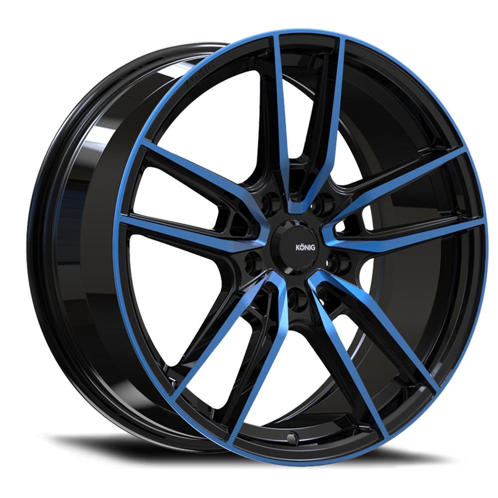 Konig Myth - Gloss Black/Blue Tint Clearcoat