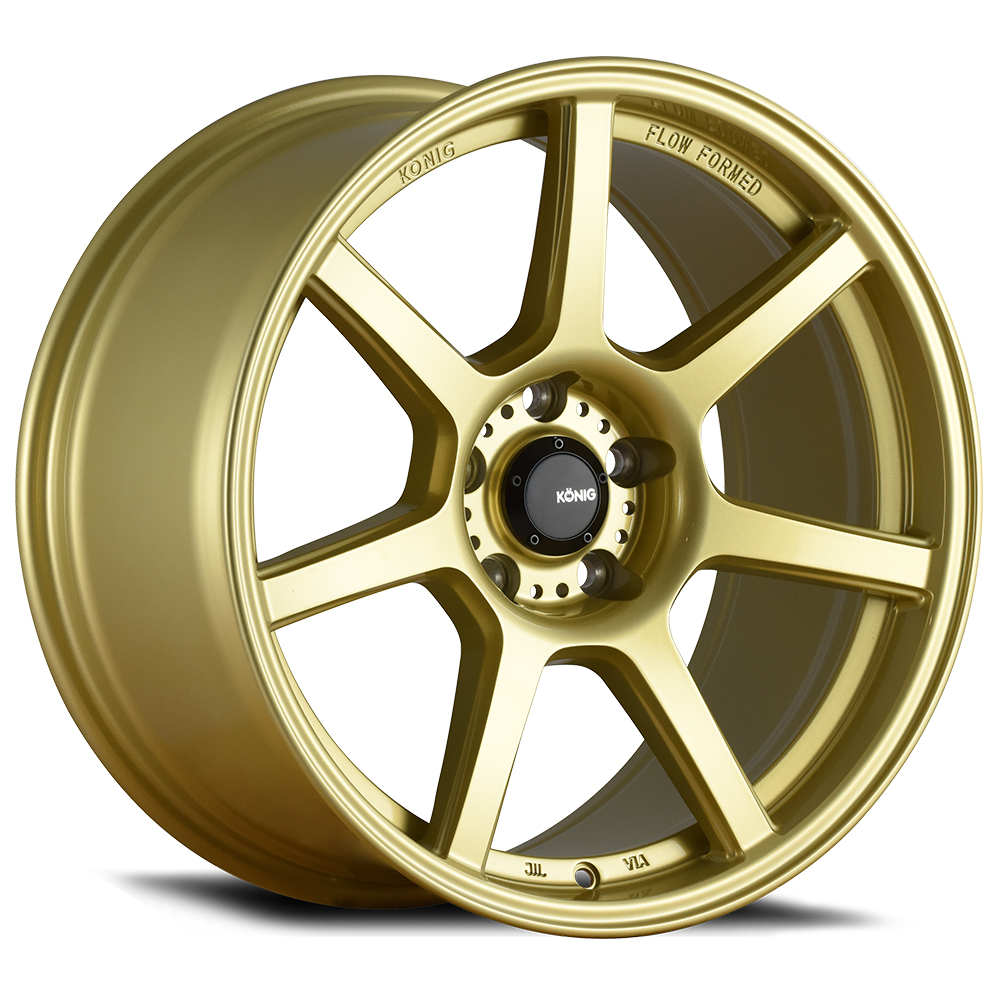 Konig Wheels Ultraform - Gold Rim
