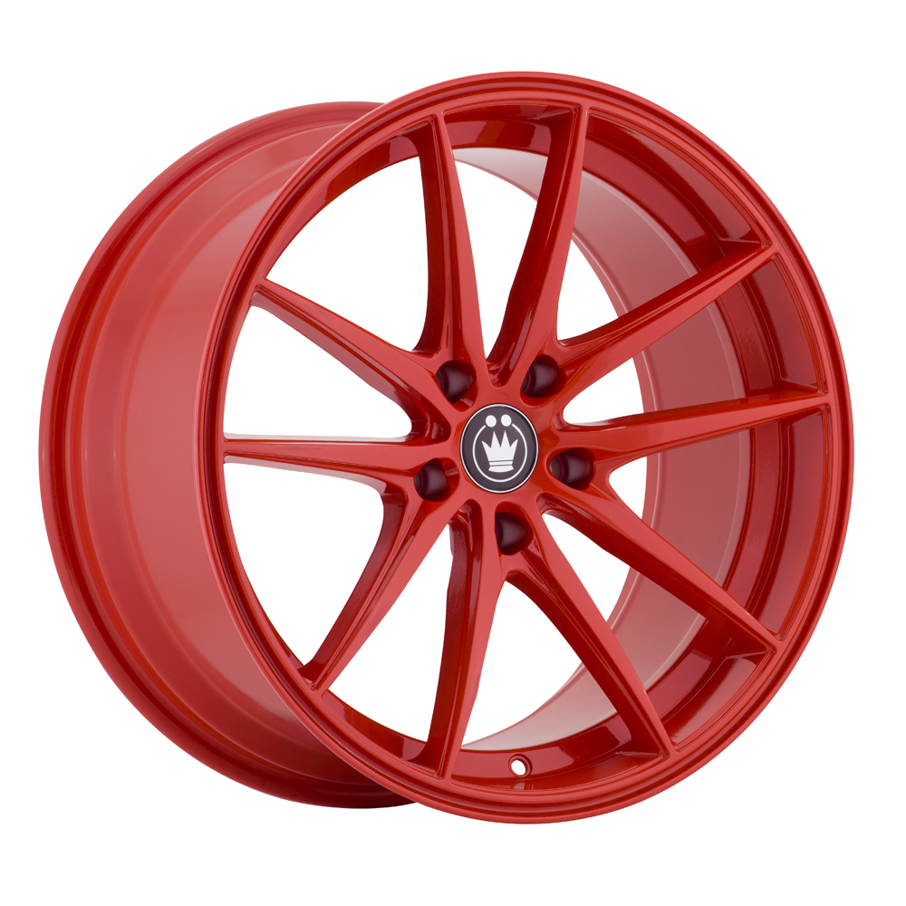 Konig Wheels Oversteer - Gloss Red Rim