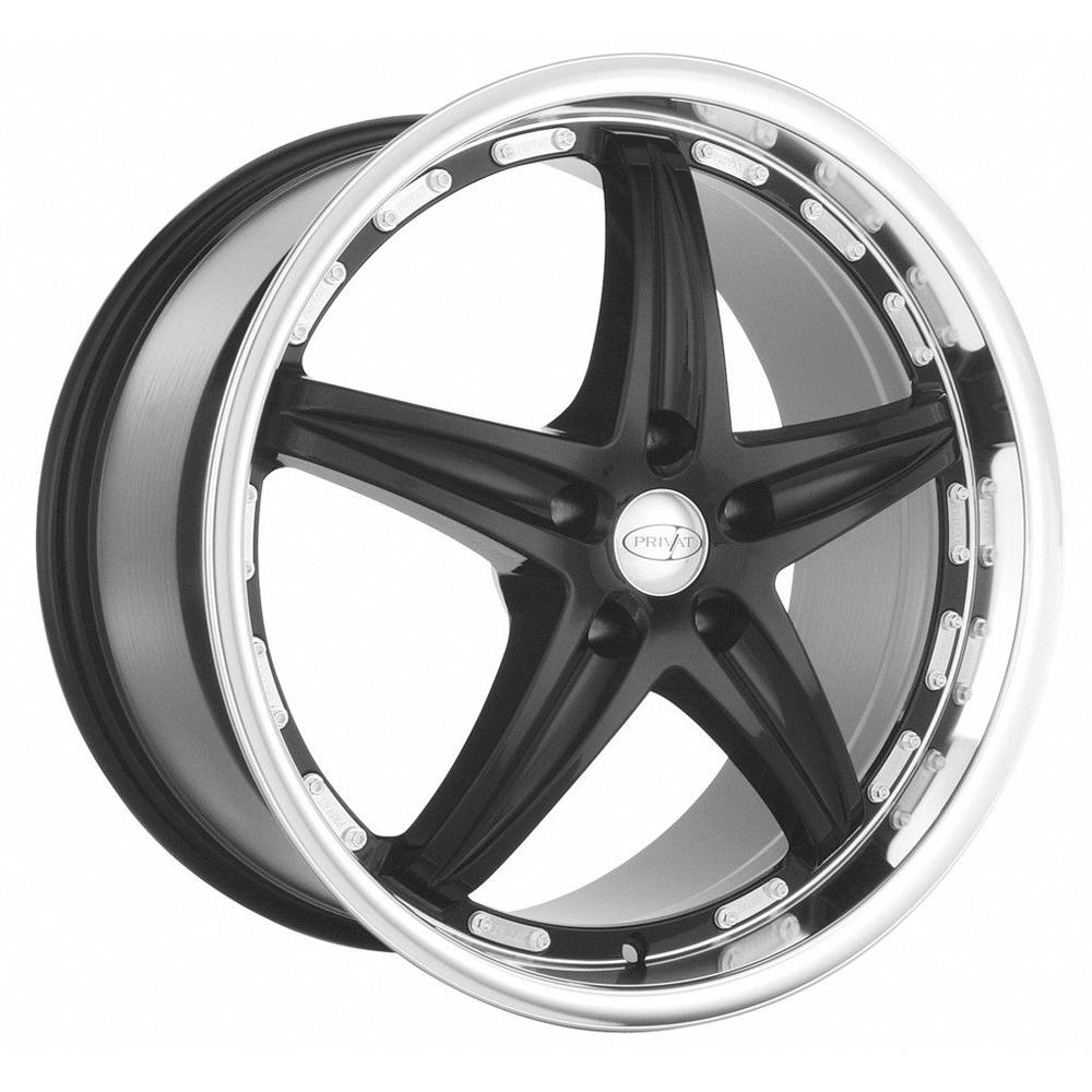 Privat Wheels Profil - Gloss Black Rim