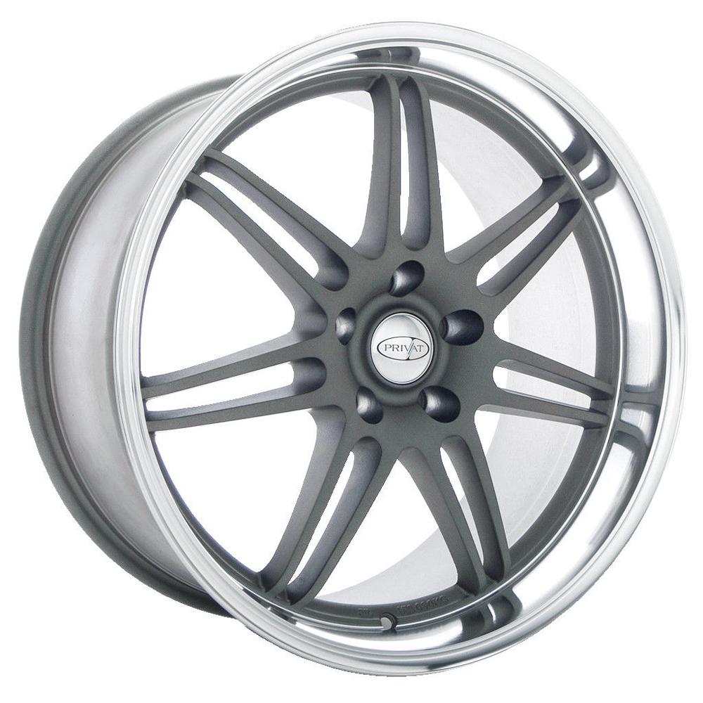 Privat Wheels Reserv - Forge Grey Rim