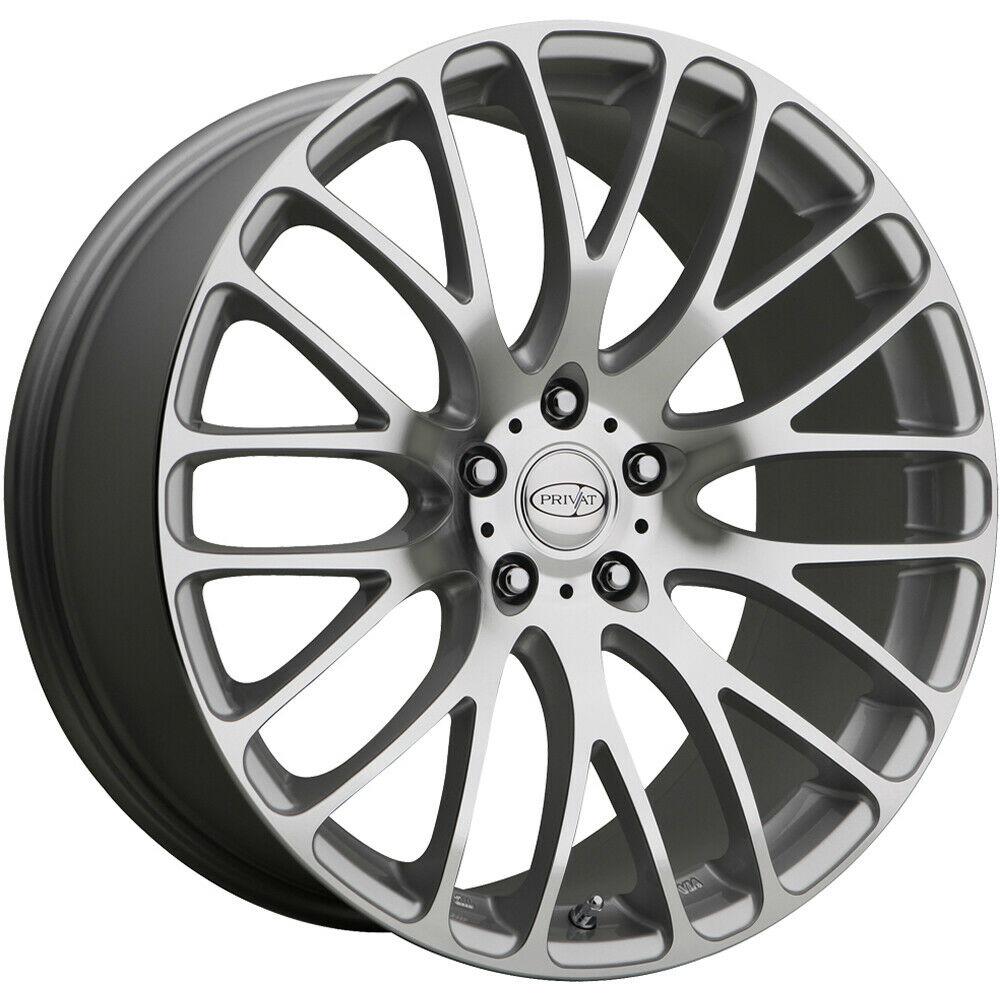 Privat Wheels Weiden - Silver Mirror Machine Face Rim