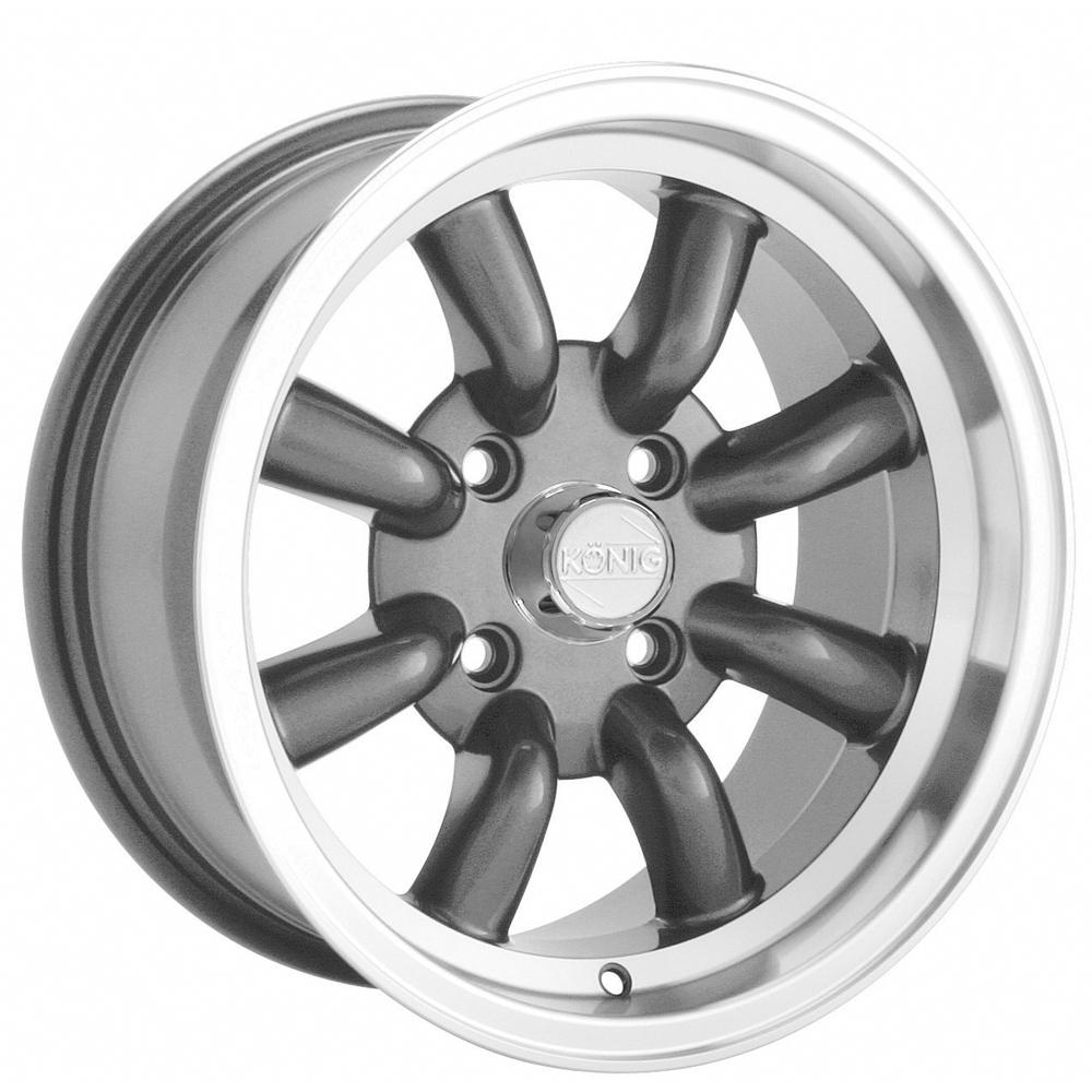 Konig Wheels Rewind - Graphite Machine Lip Rim