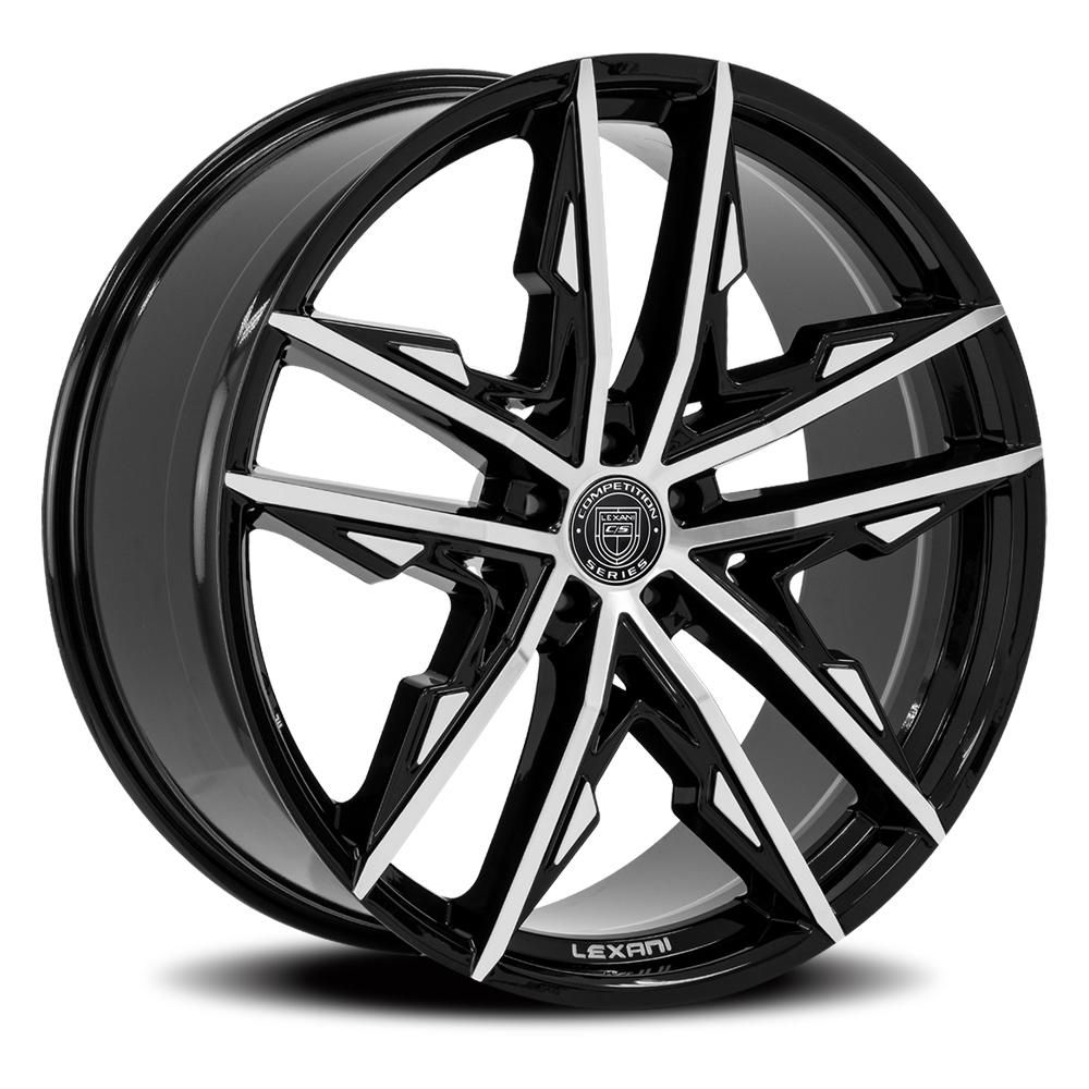 Lexani Wheels Venom - Machined & Black Rim