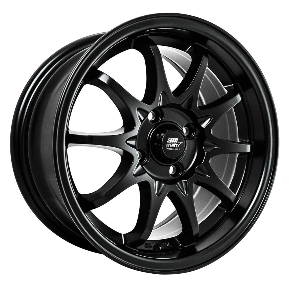 MST Wheels MT04 - Matte Black Rim