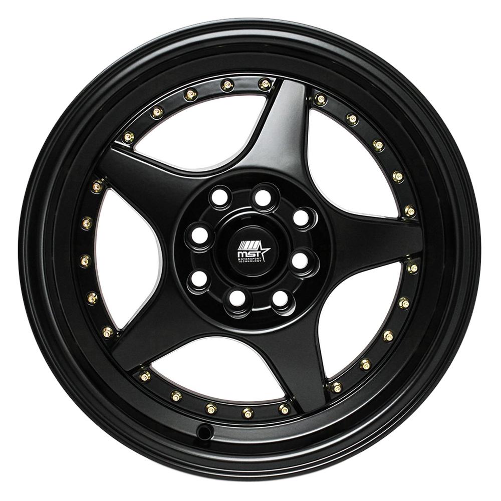 MST Wheels MT42 - Matte Black Rim