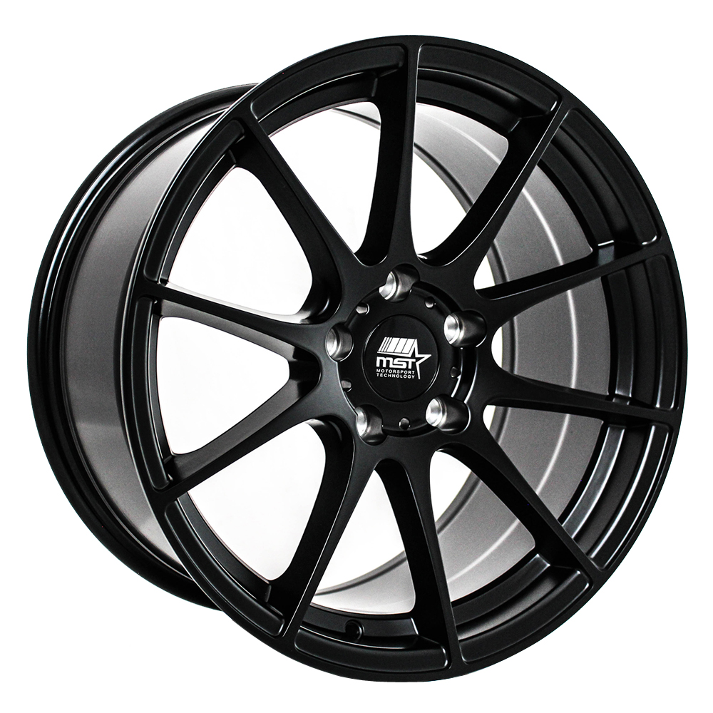 MST Wheels MT44 - Matte Black Rim