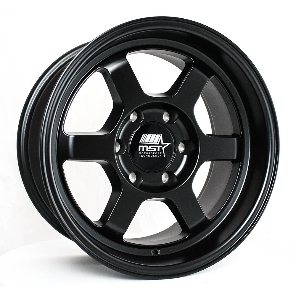 MST Wheels Time Attack Truck - Matte Black Rim