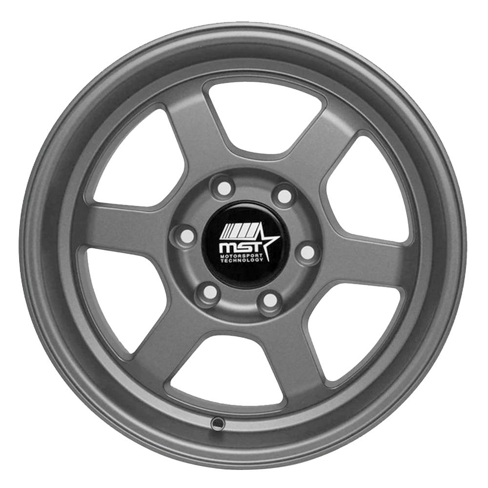 MST Wheels Time Attack Truck - Matte Gunmetal Rim