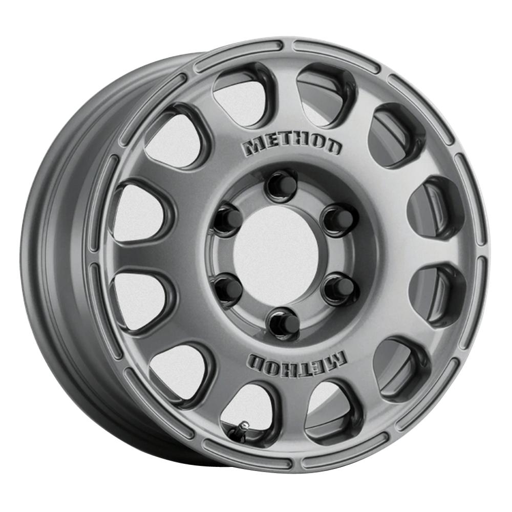 Method Wheels 107 - Gloss Titanium Rim