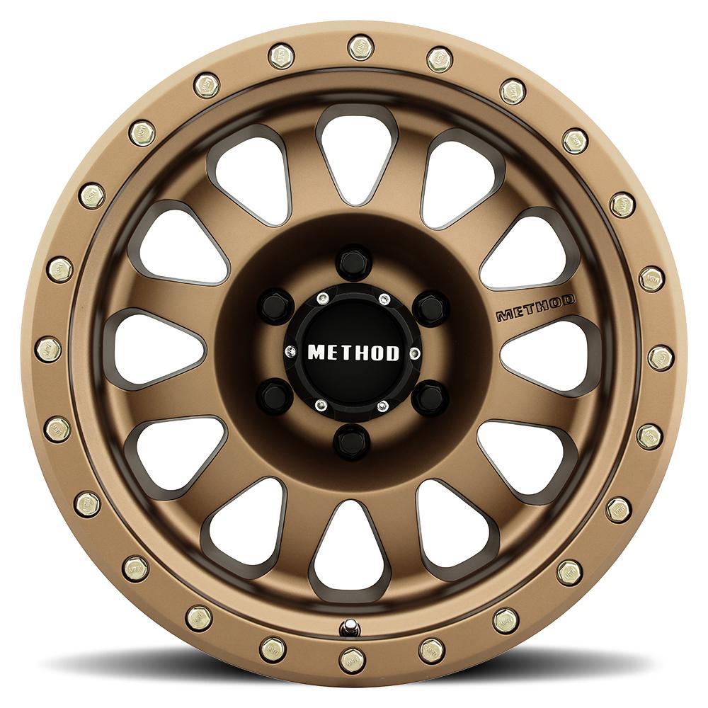 Method Wheels 304 Standard-Bronze Rim