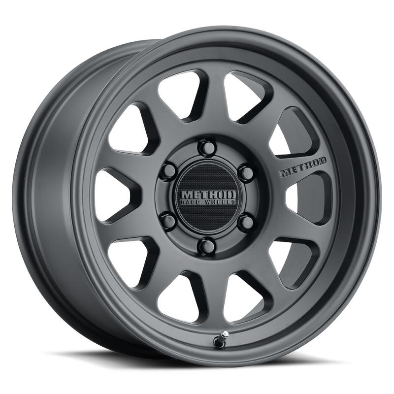 Method Wheels 316 Street - Matte Black Rim