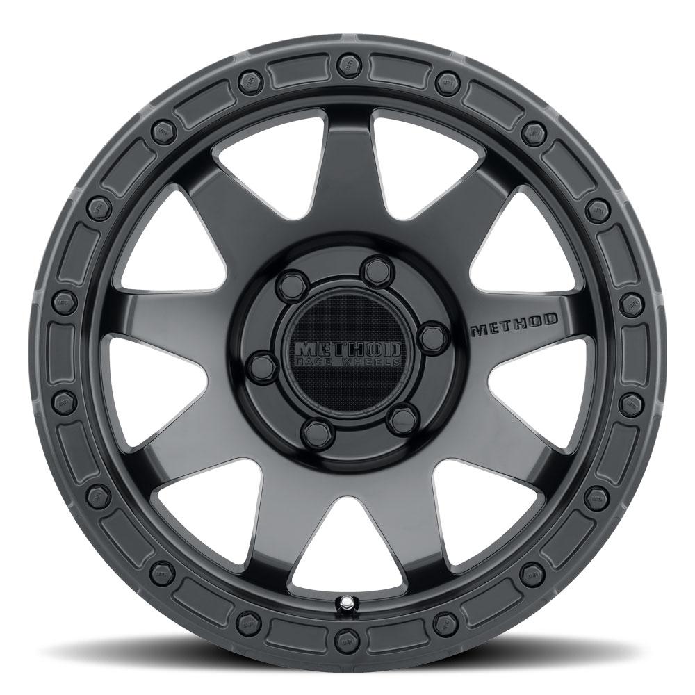 Method Wheels 317 - Matte Black Rim
