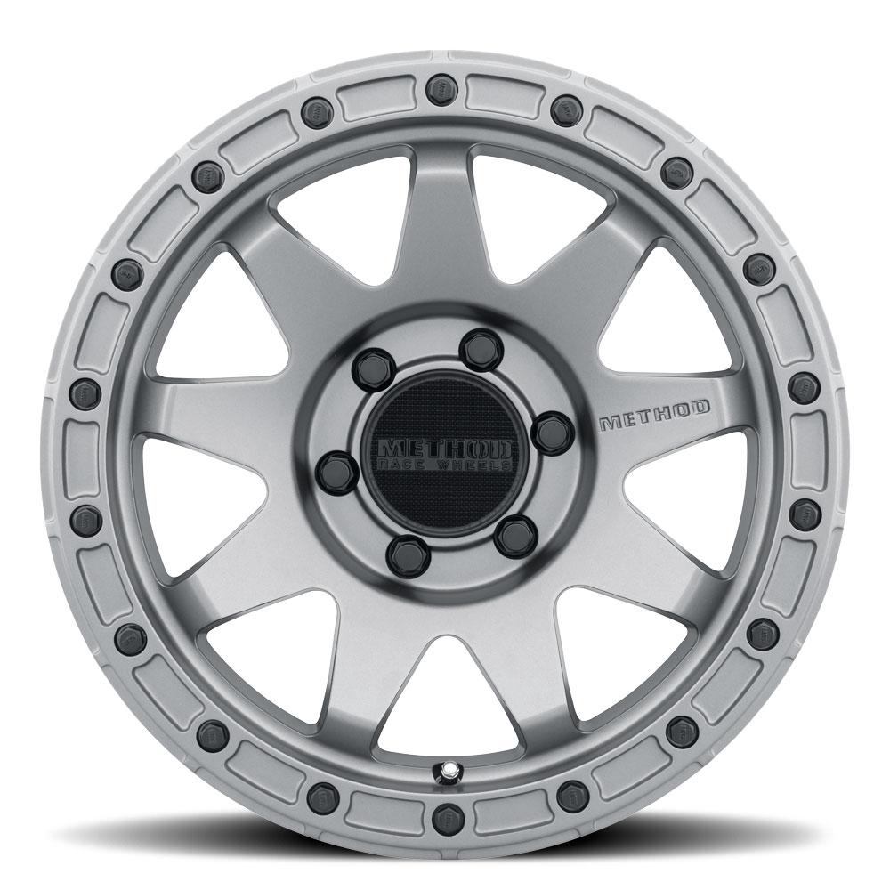 Method Wheels 317 - Titanium Rim