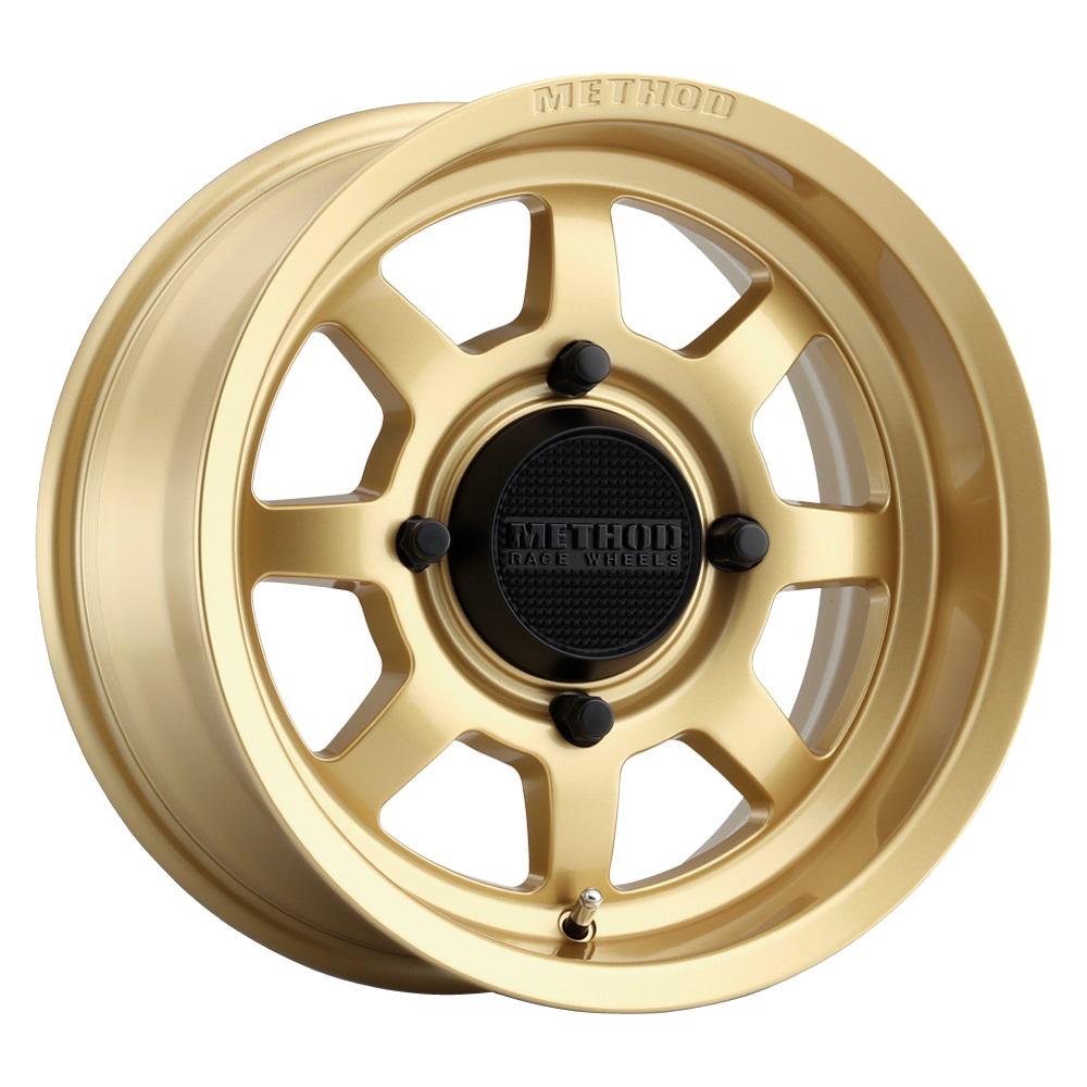 Method Wheels 410 UTV Bead Grip - Gold Rim