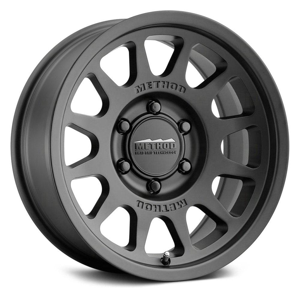 Method Wheels 703 Trail - Matte Black Rim