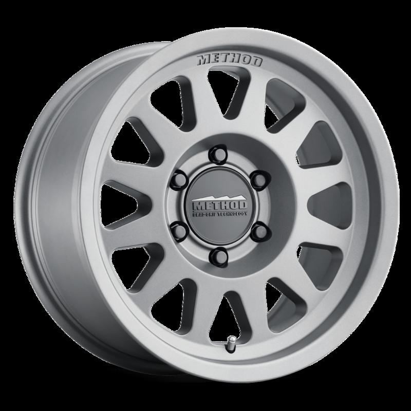 Method Wheels 704 - Matte Titanium Rim