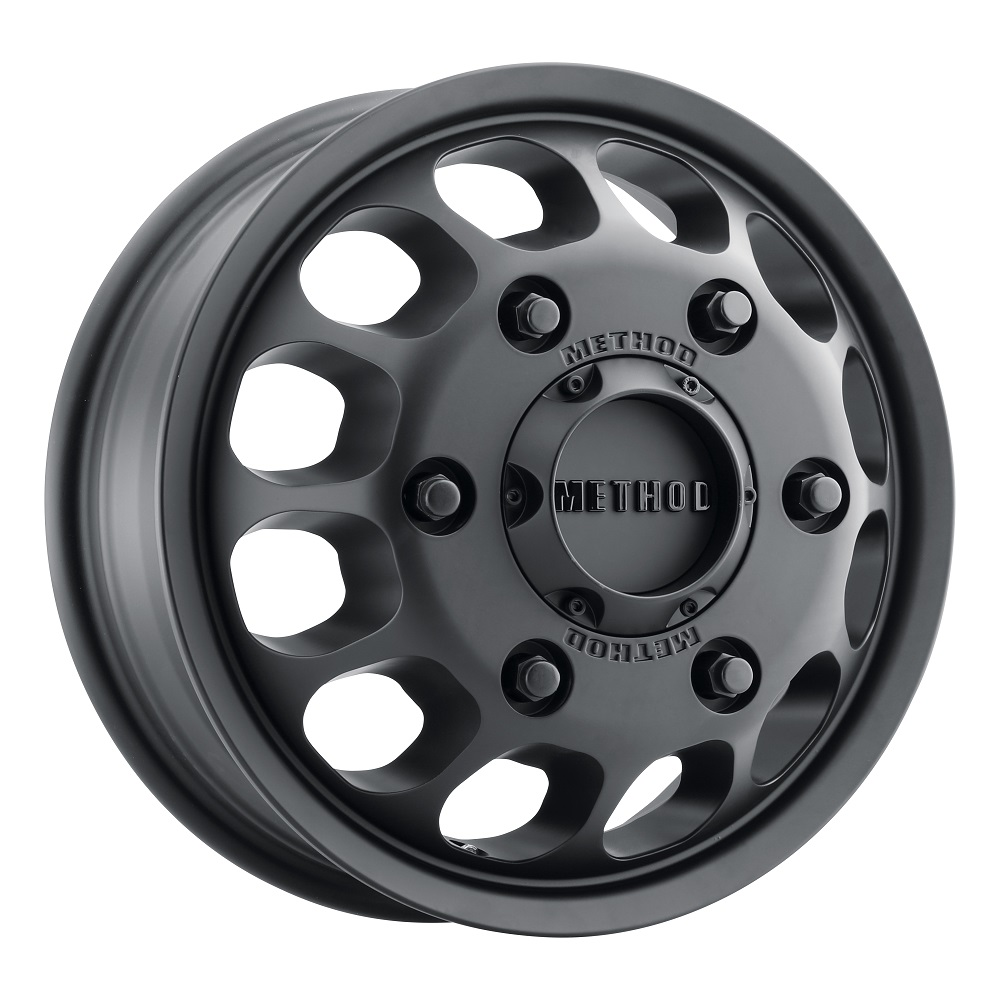 Method Wheels 901 Dually Front - Matte Black Rim
