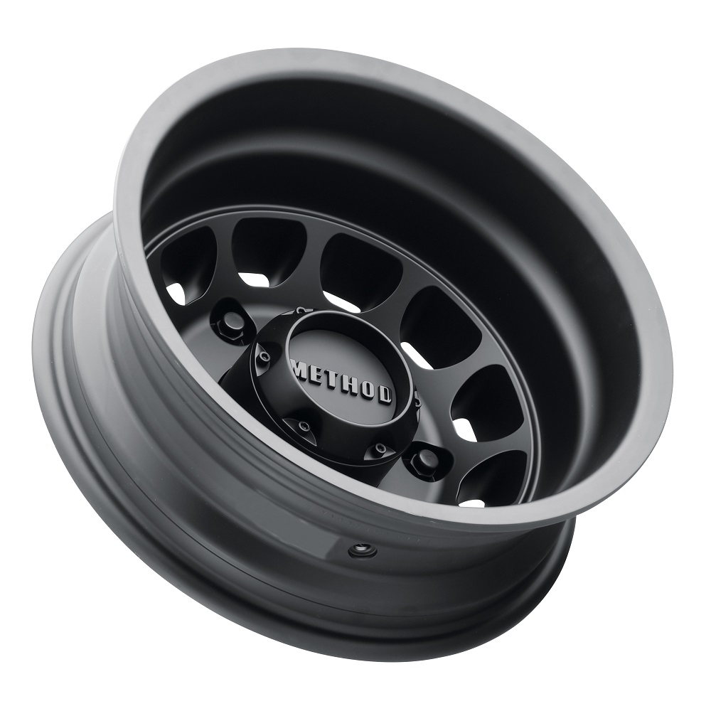 Method Wheels 901 Dually Rear - Matte Black Rim
