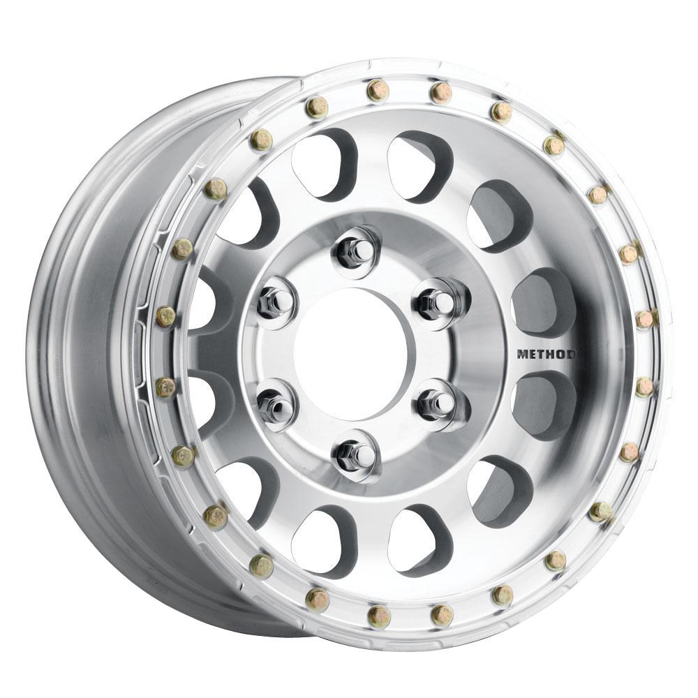 Method Wheels 103 HD Beadlock - Raw Machined Rim