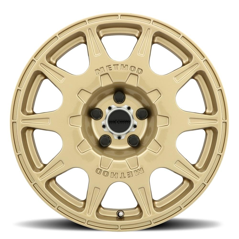 Method Wheels 502 Rally - Gold Rim