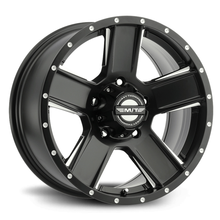 Mickey Thompson Wheels SD-5 - Satin Black / Diamond Cut Machined Rim