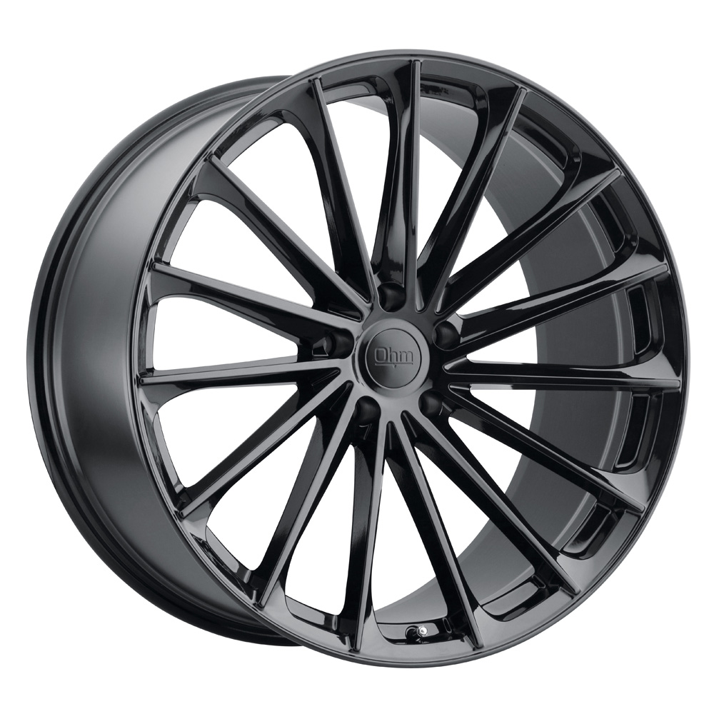 Ohm Wheels Proton - Gloss Black RF Rim