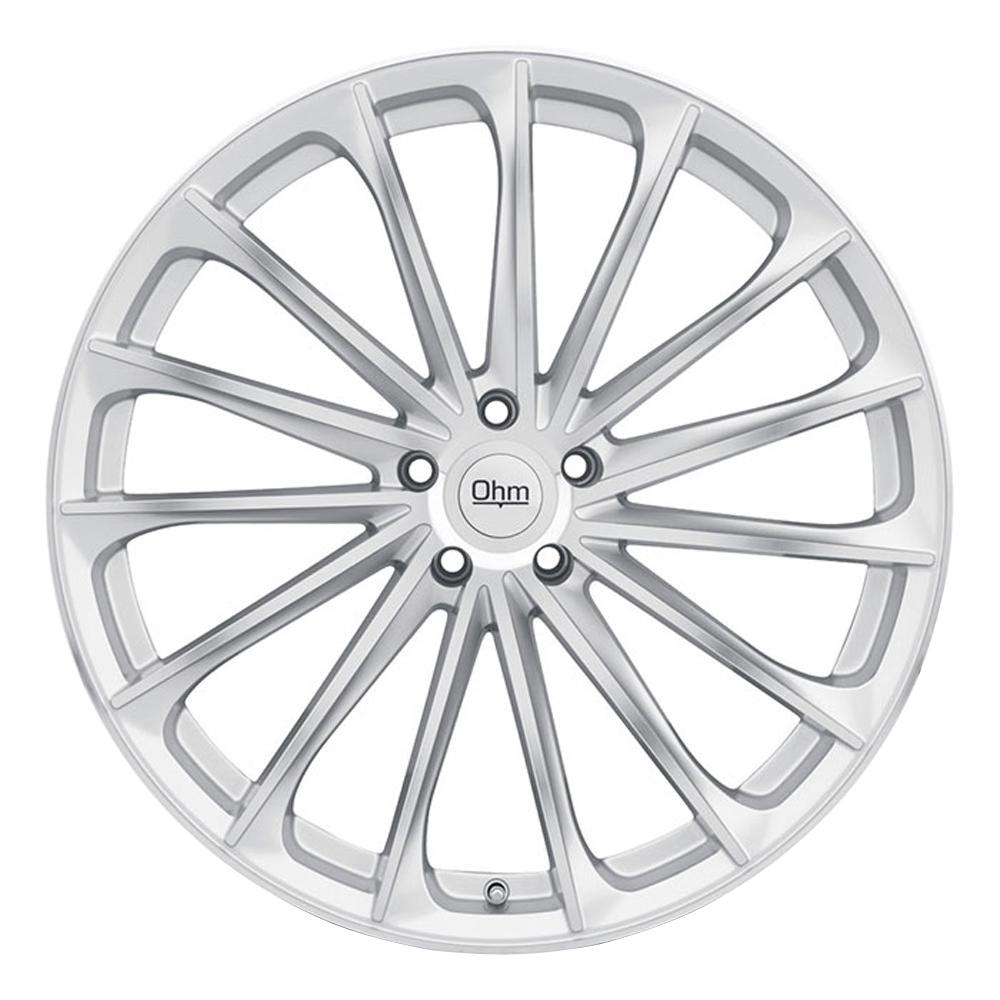 Ohm Wheels Proton - Silver w/ Mirror Face RF Rim