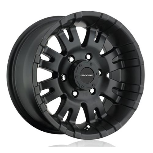 Pro Comp Wheel Series 01 Raven - Satin Black Rim
