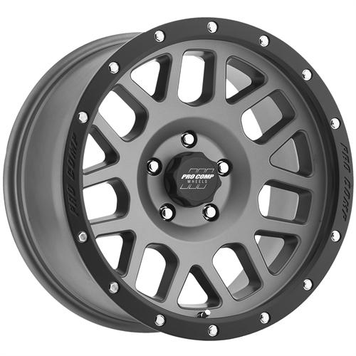 Pro Comp Wheel Series 40 Vertigo - Matte Grey Rim