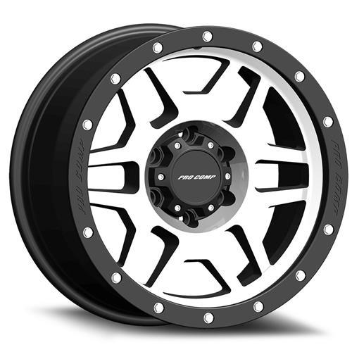 Pro Comp Wheel Series 41 Phaser - Black / Machined Rim