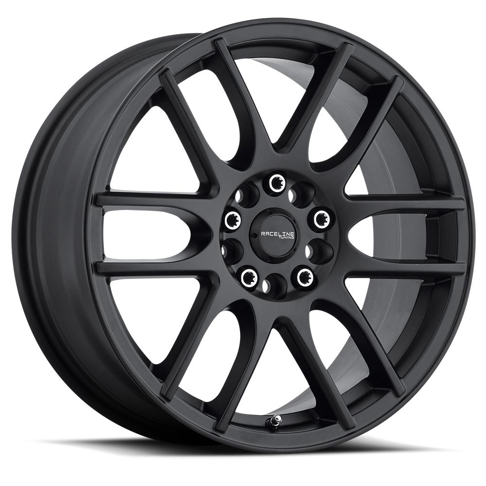 Raceline Wheels 141B Mystique - Black Rim