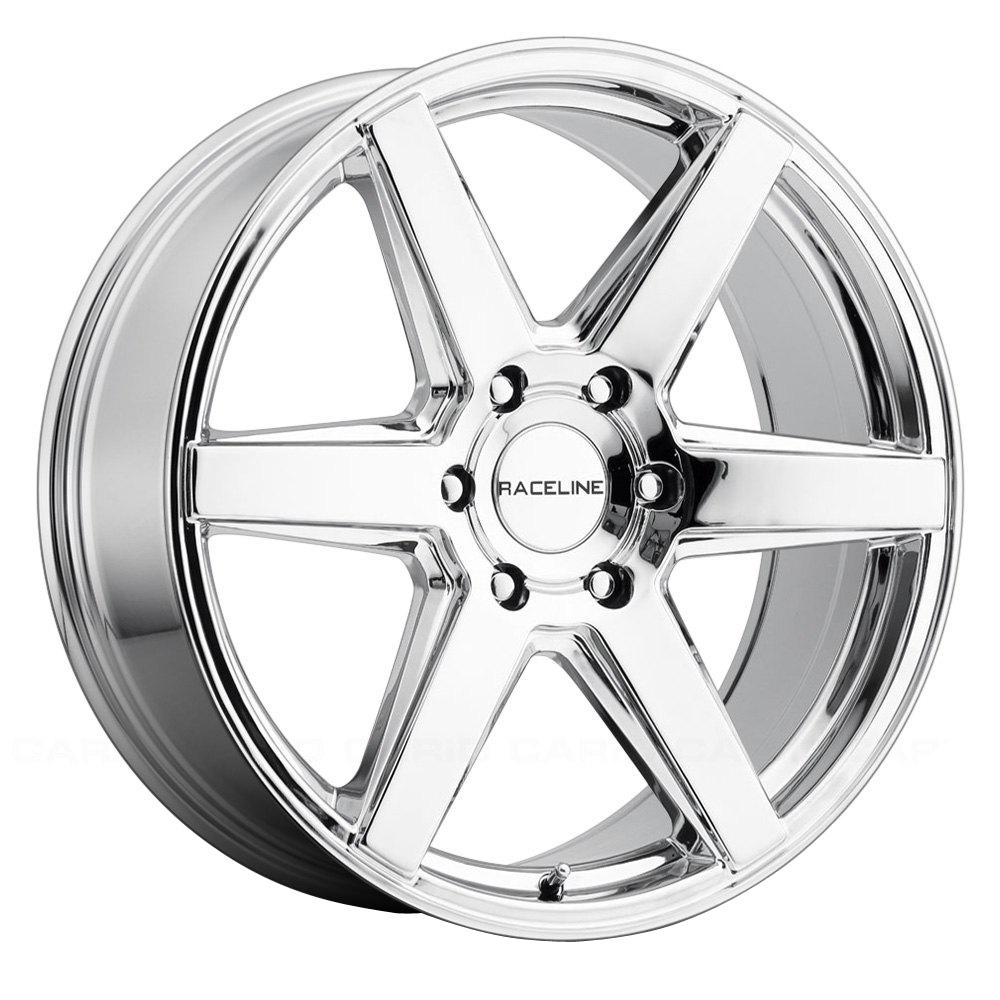 Raceline Wheels 156C Surge - Chrome Rim