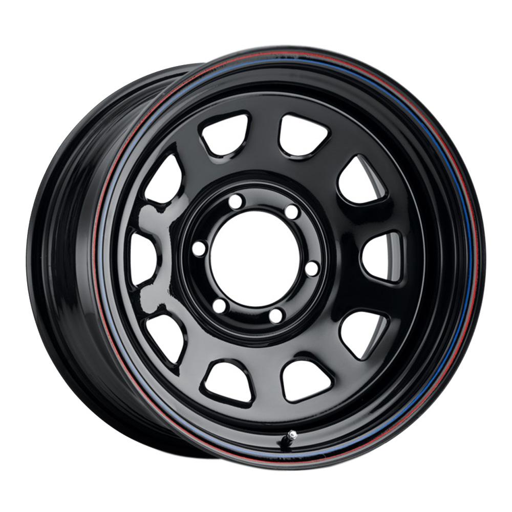 Allied Wheel 51 Daytona - Black Rim