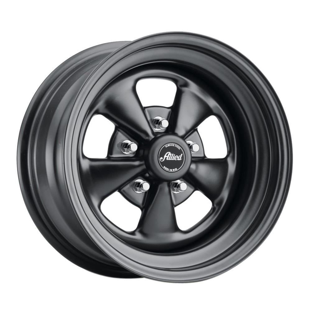 Allied Wheel 65B Super Spoke - Matte Black Rim