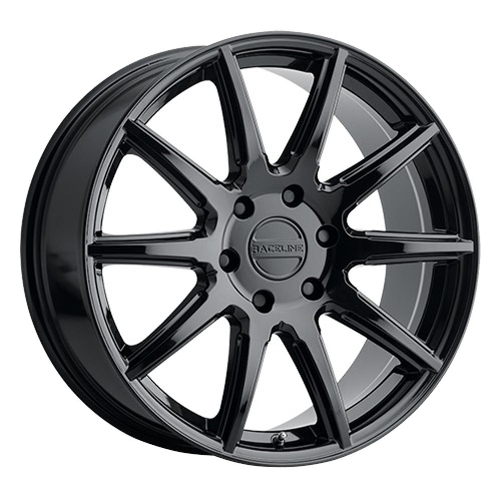 Raceline Wheels 159 Spike - Gloss Black Rim