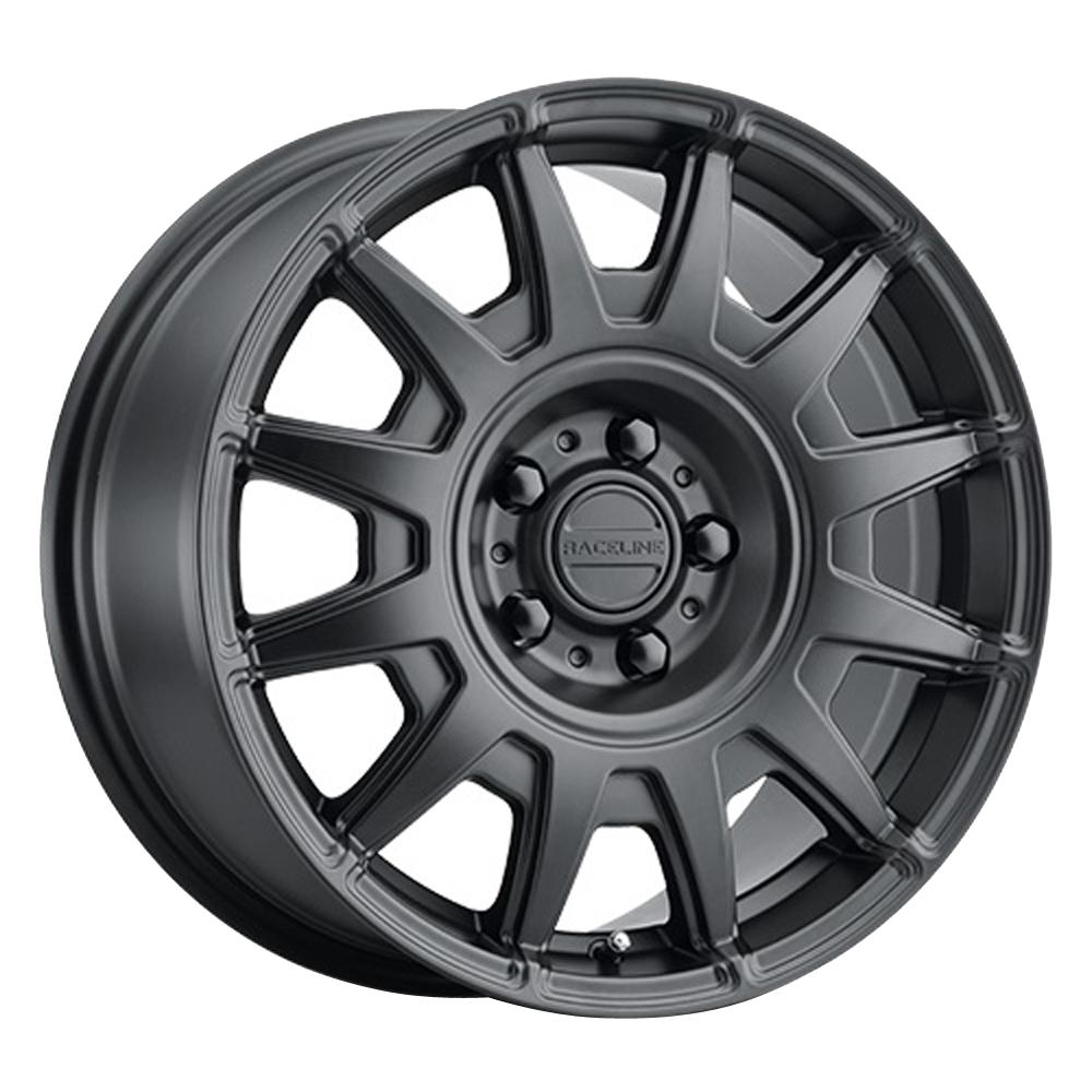 Raceline Wheels 401 Aero - Satin Black Rim