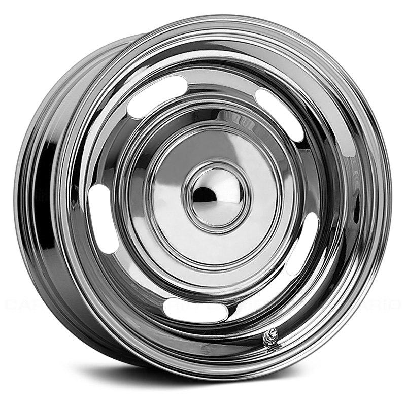 Raceline Wheels 62 Rallye - Chrome Rim