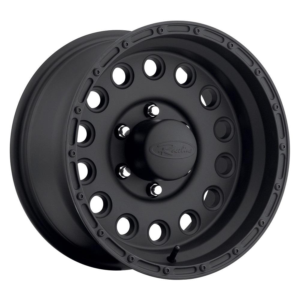 Raceline Wheels 887 Rockcrusher - Satin Black Rim
