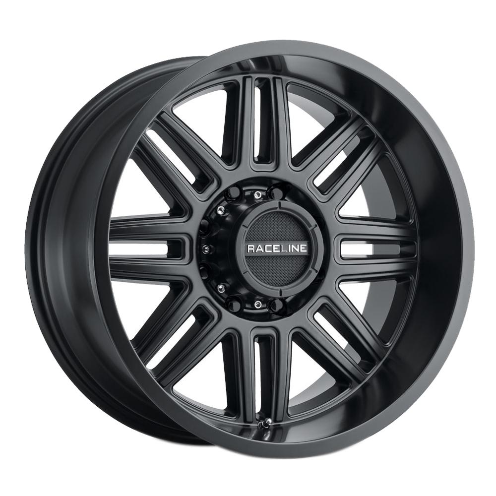 Raceline Wheels 948 Split - Satin Black Rim