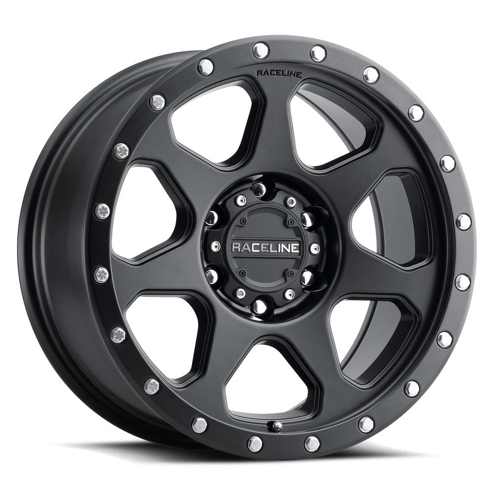 Raceline Wheels 949 7X - Satin Black Rim